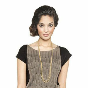 raven-lily-Telau-Gold-Braid-Long-Necklace